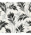 Midori White Bamboo Silhouette Wallpaper