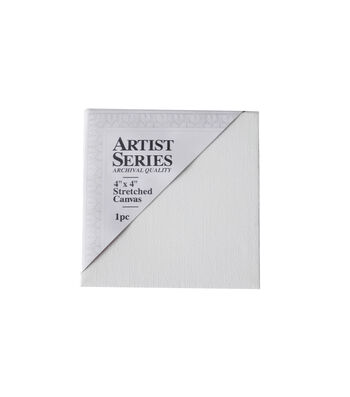 """Artist Stretched Canvas-4""""x4"""""""