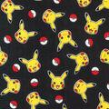 Pokemon Pikachu Cotton Fabric-Tossed