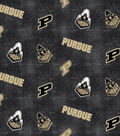 Purdue University Boilmakers Flannel Fabric 42\u0022-Distressed Logo