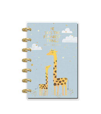 The Happy Planner Happy Notes 80-sheet Mini Notebook-Baby Boy