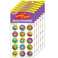 Car-Toons-Root Beer Stinky Stickers 6 Packs