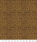 Keepsake Calico Glitter Cotton Fabric-Brown Haystack