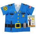 My 1st Career Gear Police Top, One Size Fits Most Ages 3-6