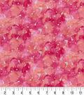 Premium Cotton Fabric -Watercolor Pink Pearl