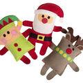 Sizzix Bigz Jennifer Jangles Plus Q Die-Santa, Elf & Reindeer
