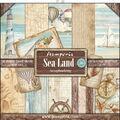 Stamperia Sea Land 10-sheets 12\u0027\u0027x12\u0027\u0027 Double-Sided Paper Pad