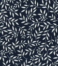 Quilter\u0027s Showcase Cotton Fabric 44\u0027\u0027-Vine on Navy