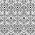 Cricut Pattern Iron On Sampler-B/W Botanical