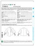 Mccall Pattern V8863 8-10-12-14-Vogue Pattern