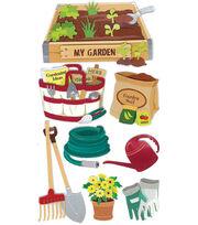 Jolee's Boutique Le Grande Dimensional Sticker-Gardening, , hi-res