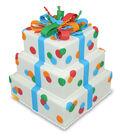 FloraCraft SmoothFoam 10\u0027\u0027 Styrofoam Cake Form-White