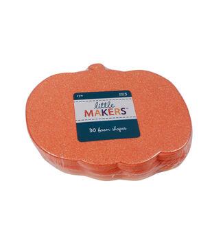 Little Makers Thanksgiving 30 pk Pumpkin Foam Shapes