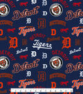 Cooperstown Detroit Tigers Cotton Fabric
