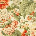 Waverly Sun N Shade Fabric 9\u0022x9\u0022 Swatch-Garden Glory Sunset
