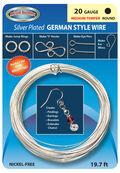 20 Gauge Silver German Wire