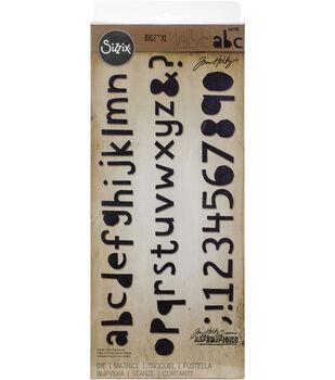 Sizzix Tim Holtz Bigz XL Die-Cutout Lowercase Letters