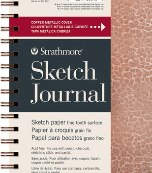 Strathmore Sketch Journal with Hammered Copper Metallic Cover