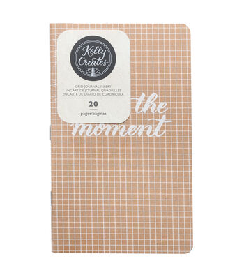 Kelly Creates 20 pk Journal Inserts-Grid