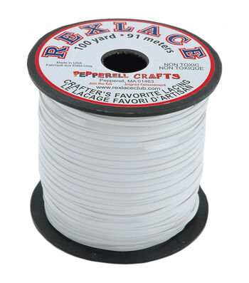 Pepperell Braiding Rexlace Plastic Lace Spool