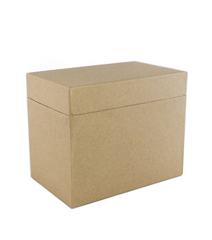 Park Lane Card Storage Box-Kraft