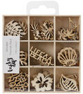 Themed Mini Wooden Flourishes-Life\u0027s A Beach
