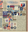 Heroic Cardstock Stickers 12\u0022X12\u0022-Details