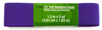 "Dritz 1 1/2"" Soft Waistband Elastic Purple"