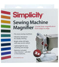 Wrights Sewing Machine White & Red Magnifier