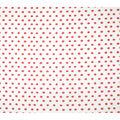 Super Snuggle Flannel Fabric-Coral Dots