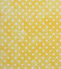 Keepsake Calico Cotton Fabric -Dot Texture On Yellow