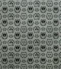 Star Wars Knit Fabric-Empire Helmets Floral