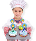 Melissa & Doug Wooden Food Set-Bake & Decorate Cupcakes
