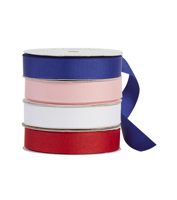 5//8-Inch x 9-Feet Offray 5//8 Inch Red Taffeta Gingham Check Craft Ribbon