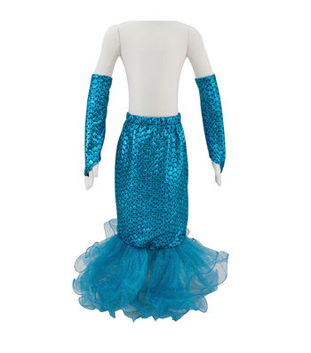 Maker's Halloween Child Mermaid Tail with Arm Bands