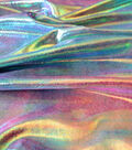 Performance Mystique Polyester Spandex Fabric -Cotton Candy Tie Dye