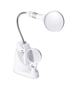 Ottlite 6X And 3X Led Magnifier Lamp With Base