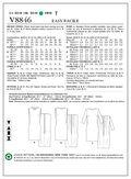 Mccall Pattern V8846 6-8-10-12--Vogue Pattern