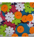 Fav Findings Big Bag of Buttons-Bright Blossoms