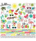 Simple Stories Hello Summer 50 pk Combo Cardstock Stickers