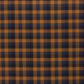 Halloween Cotton Fabric-Orange Buffalo Check