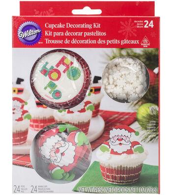 Wilton Cupcake Decorating Kit-Santa