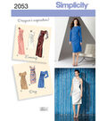 Simplicity Pattern 2053H5 6-8-10-12--Simplicity Misses