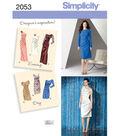 Simplicity Pattern 2053H5 6-8-10-12--Simplicity Misses