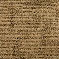 Canvas Corp Black French Script Printed Burlap Sheet 12\u0022x12\u0022