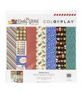 ColorPlay Collection Pack 12\u0022X12\u0022-Daily Grind, 6 Designs/2 Each
