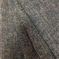 Multi-Purpose Décor Fabric-Navy Woven Khaki