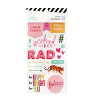 Heidi Swapp Color Fresh 916 pk Stickers-Rad, , hi-res