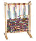 Melissa & Doug Wooden Multi-Craft Weaving Loom Kit