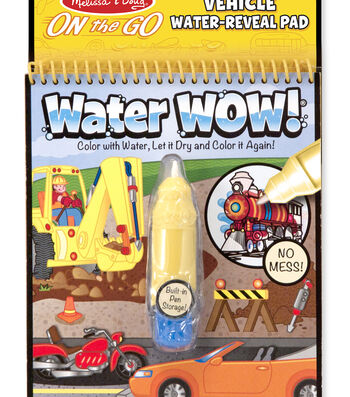 Melissa & Doug On The Go Water Wow!-Vehicles